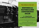 Historical Materialism Delhi Conference